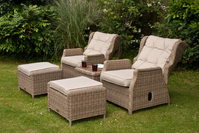 Rioja High Back Recliner Set