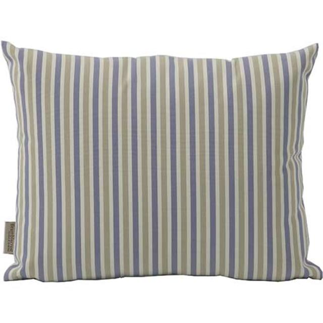 Bramblecrest Scatter Cushions Blue Thin Striped Rectangular Scatter Cushion