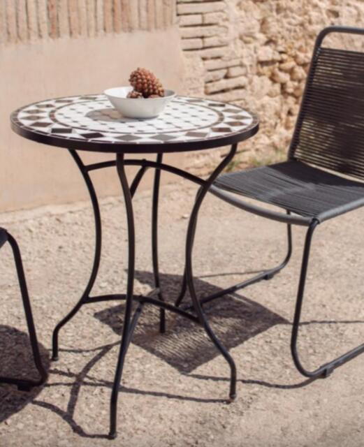 Bedar Brown Mosaic Table