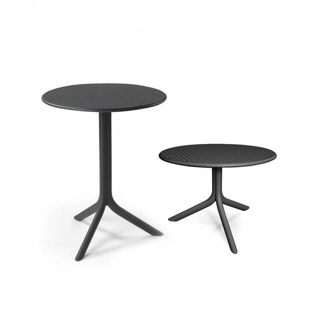 Step Height Adjustable Table Anthracite
