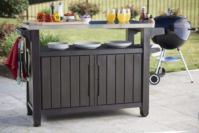 BBQ Utility Steel Top