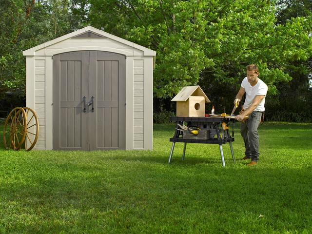 Factor 8 x 8 Shed