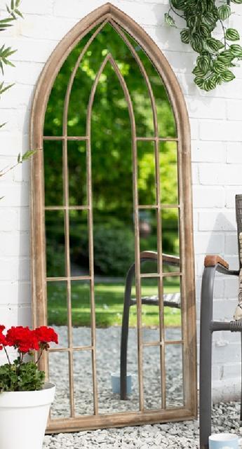 Large Arch Garden Mirror