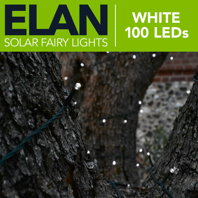 Elan Fairy Lights - White 100 LED