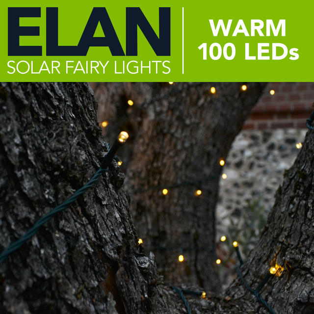 Elan Fairy Lights - Warm White 100 LED