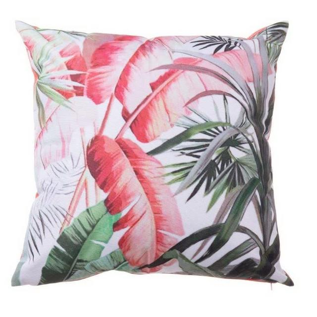 Coral Jungle Cushion