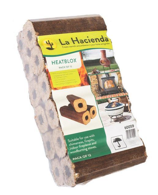 Heatblox Chimenea logs
