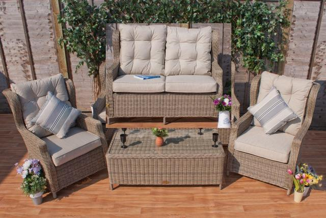 Rioja Rioja High Back 2 Seater Sofa Set