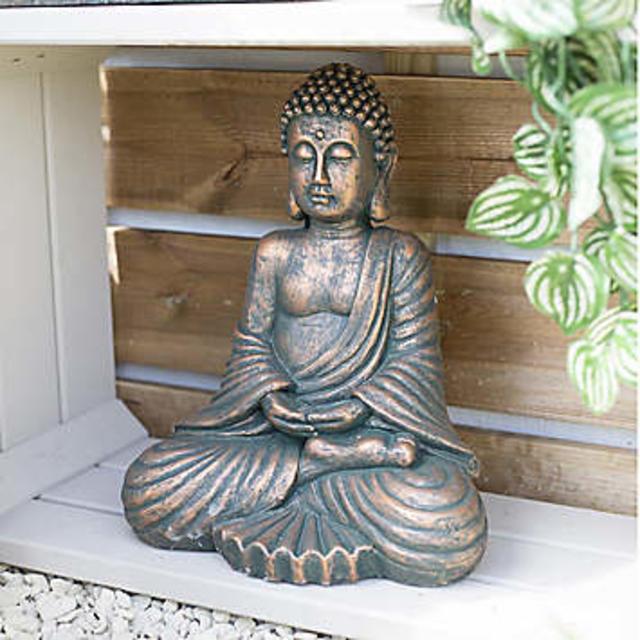 La Hacienda Seated Buddha Large