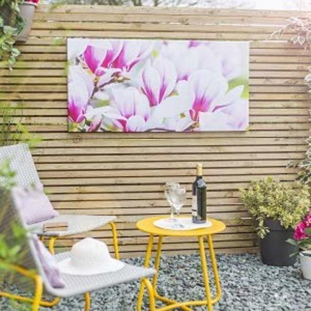 Magnolia Outdoor Canvas