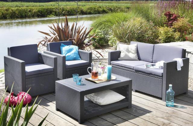 Monaco Lounge Sofa Set