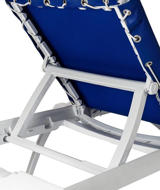 Marina Light Blue Sun Lounger
