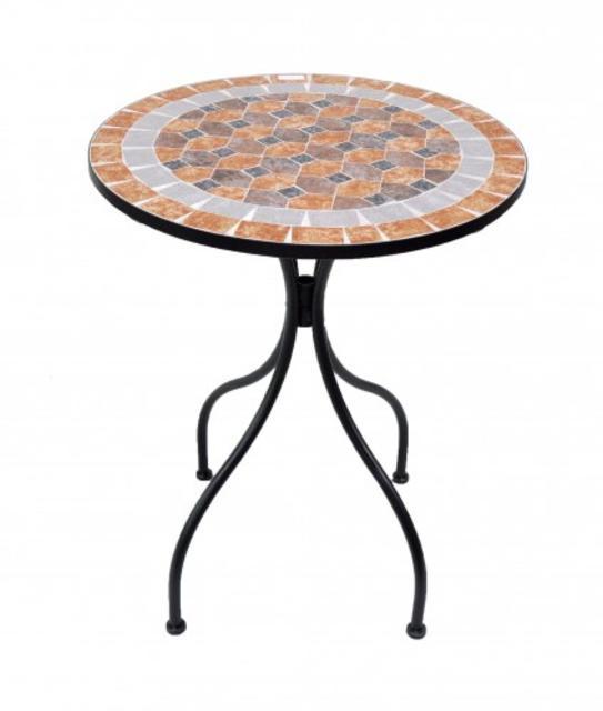 Resol Naxos 60 dia. Mosaic Table
