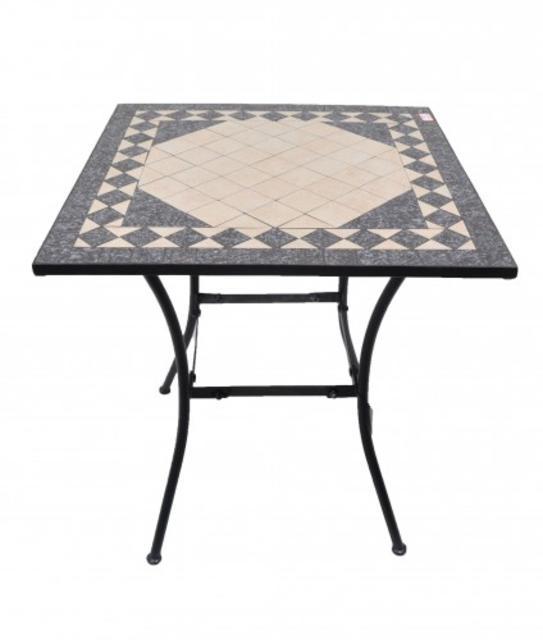 Paros 70x70cm Mosaic Table