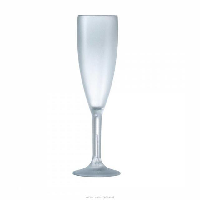 Clear Champagne Glass