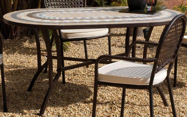 Oasis Mosaic Table