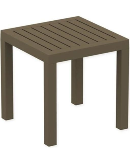 Click Clack Side Table Brown