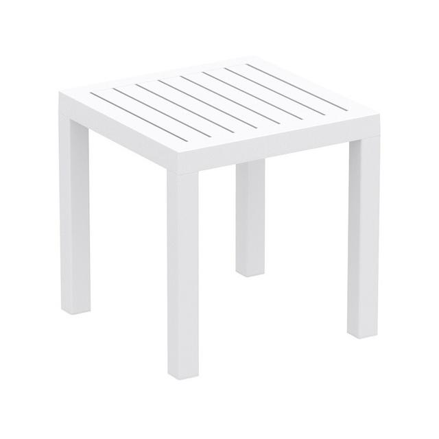 Click Clack Side Table White