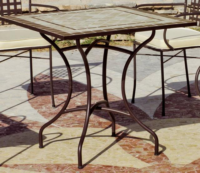 Virginia Square Mosaic Dining Table