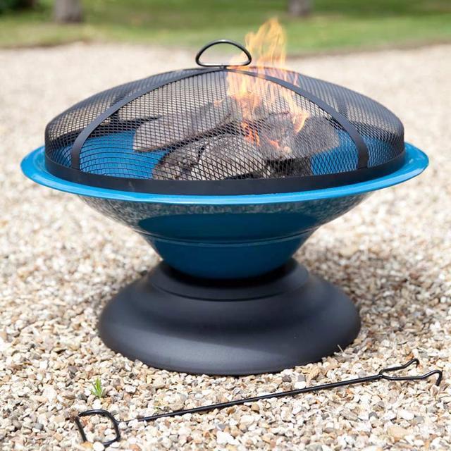 Moda Enamelled Firebowl - Blue