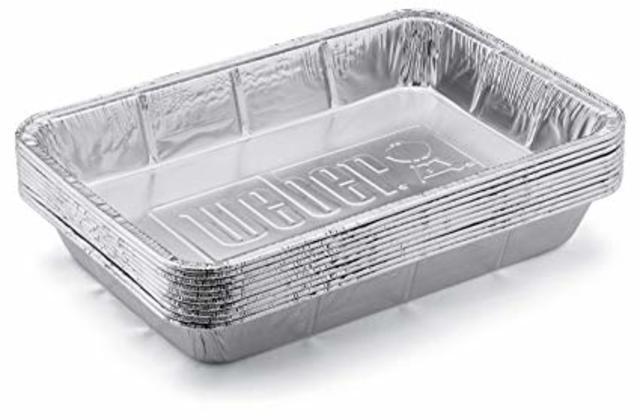 Weber Aluminium Trays (10)