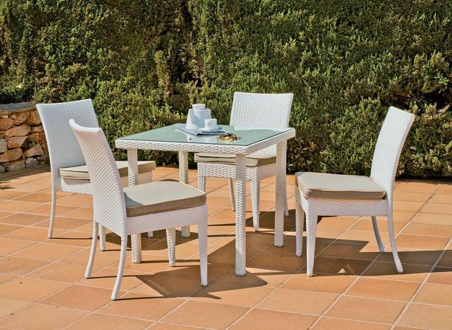 Hevea Sandra 80 x 80cm Dining Table