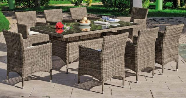 Hevea Borsalino 8 Seater Dining Set