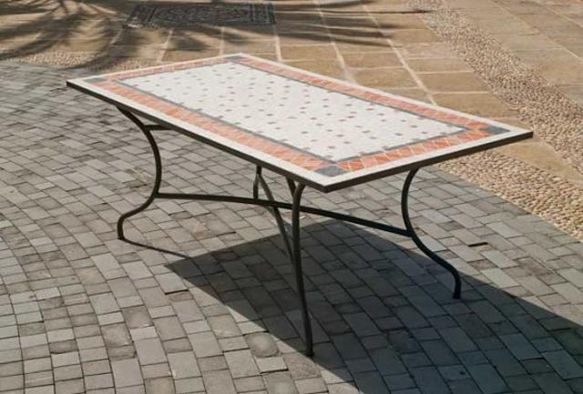 Hevea Roland Mosaic Dining Table