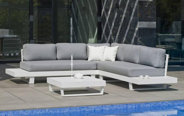 Hevea Menfis Modular Sofa Set with Coffee Table