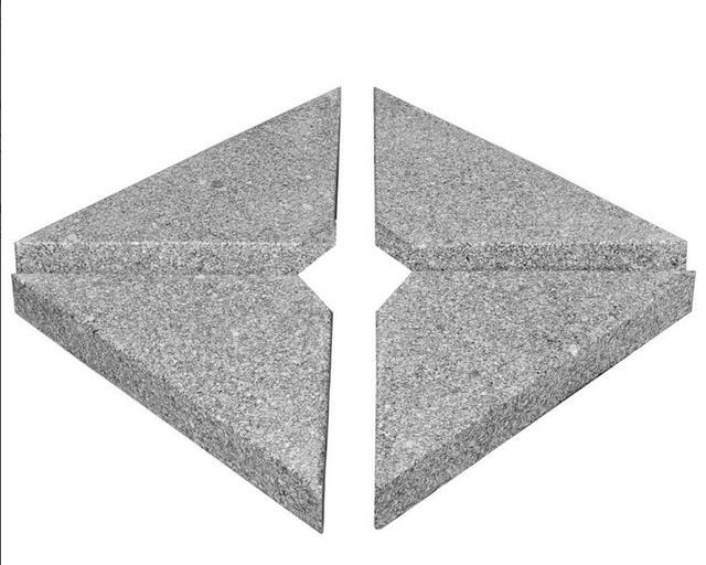 Bramblecrest Parasol 25kg Triangular Bases
