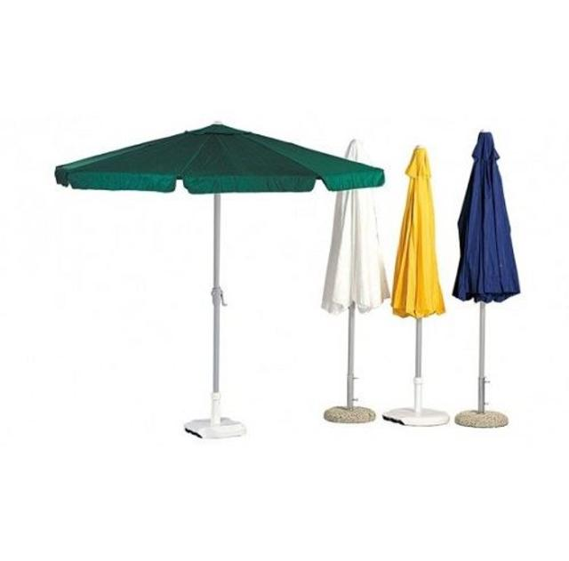 2.5m Hevea Powder Coated Parasols