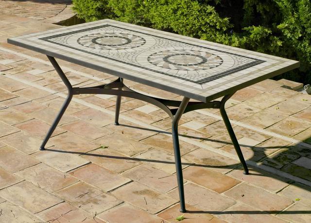 Shifa Rectangular Mosaic Table