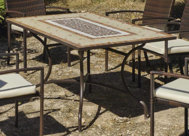 Mara Mosaic Dining Table