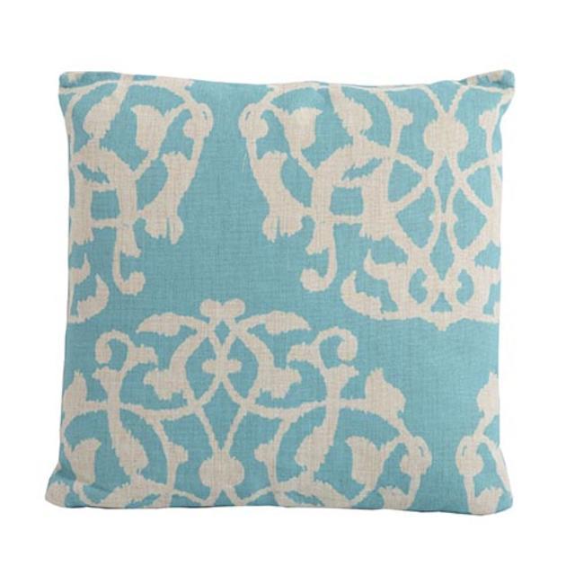 Bramblecrest Scatter Cushions Marrakesh Aqua Square Scatter Cushion