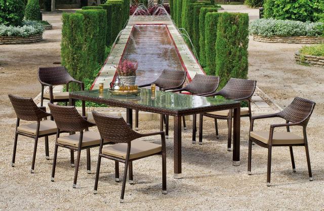 Pisa 200 x 90cm Dining Set