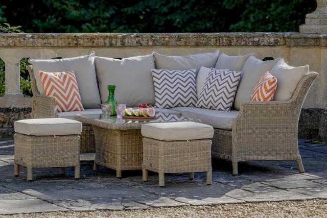Mini Modular Sofa set with Adj. Casual Dining Table