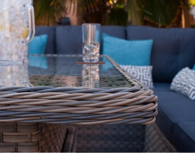 Rueda Woodash Mini Corner Dining Set