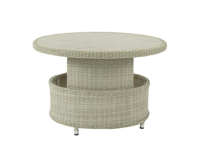 Circular Casual Dining / Day bed with H/A Table