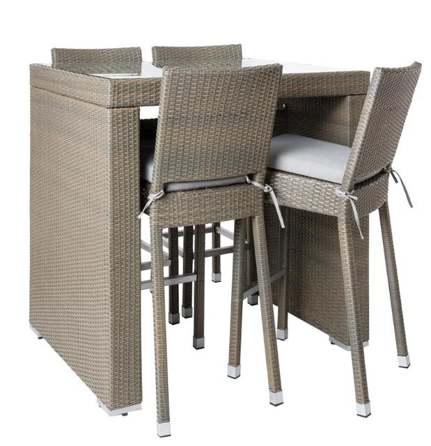 Jerez Bar Set with Chairs