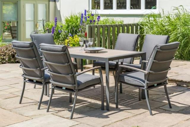 Milan 6 Seater Dining Set