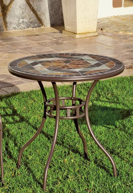 Hevea Lima Mosaic Bistro Table