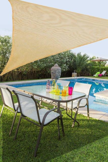 5 x 5 x 5m Triangular Shade Sail