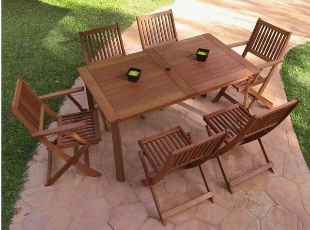 LDK Kate 6 Seater Dining Set