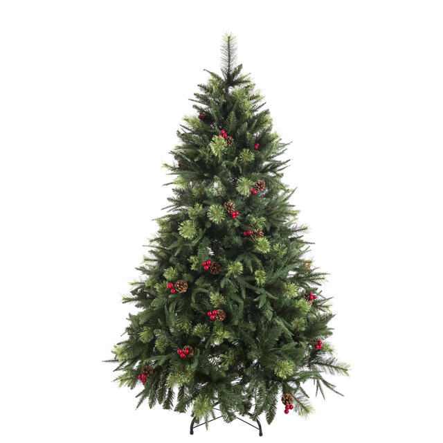 150cm Cone and Berry Christmas Tree