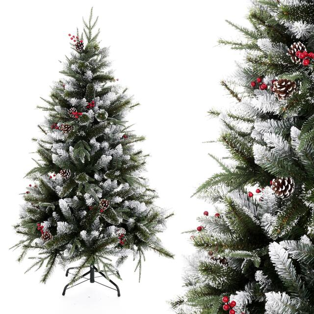 150cm Frosted Berry Christmas Tree