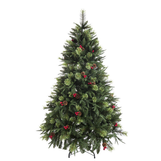 180cm Cone and Berry Christmas Tree