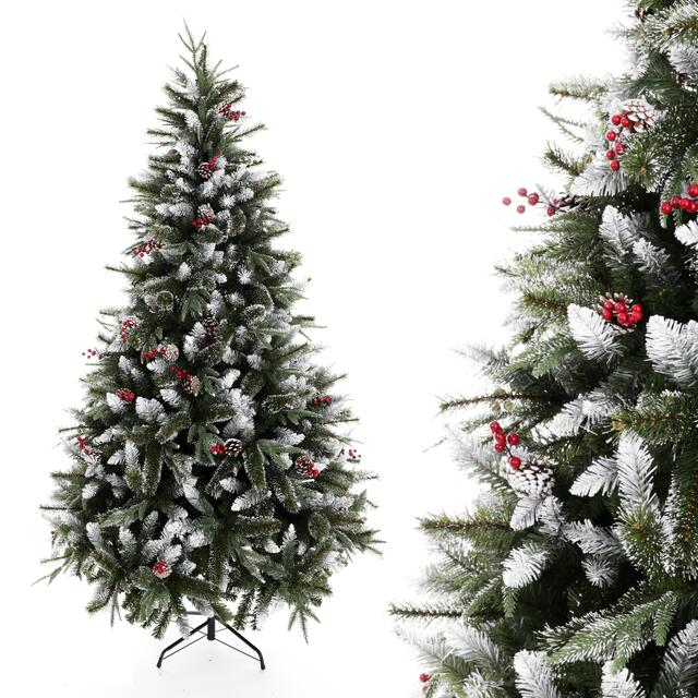 180cm Frosted Berry Christmas Tree