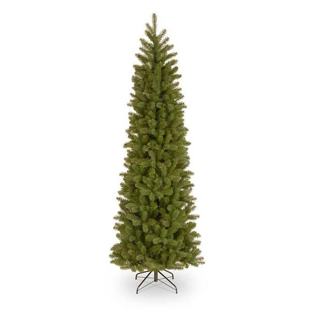 7.5' Bayberry Spruce Pencil Slim Christmas Tree