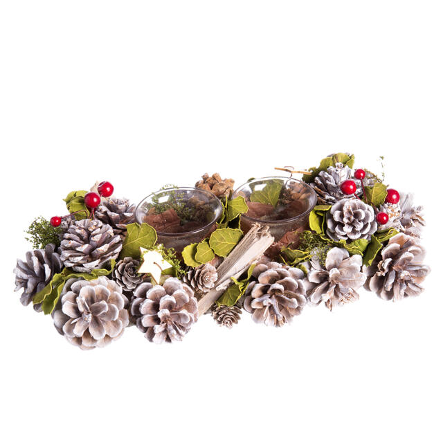 Frosted Berry Table Top Decoration