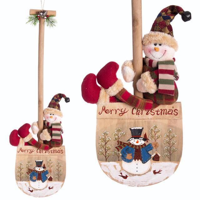 Merry Christmas Hanging Spade